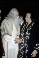 Sri Gurudev with Coretta Scott King