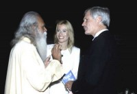 Sri Gurudev with Ted Turner