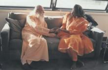 SwamiSatchidanandawithAliceColtrane.OliverStone'soffice.